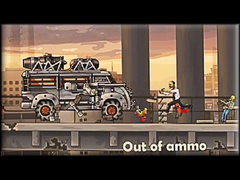 Earn to Die 2: Exodus - Game Walkthrough (Fully upgraded cars)