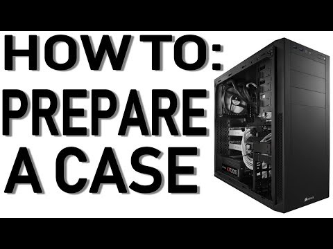 How To Prep A Case For Installation