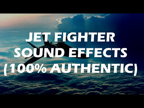JET FIGHTER SOUND EFFECTS - very rare recordings of a JAS 39 FIGHTER JET
