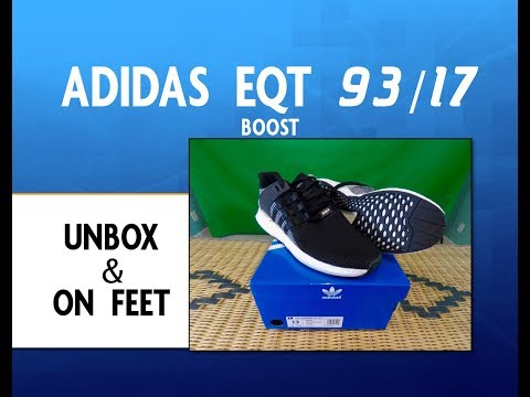 Adidas EQT SUPPORT 93/17 BOOST Unboxing & on feet