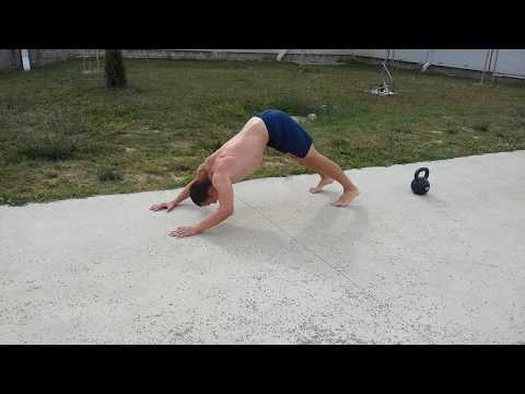 Outdoor workout: UPPER BODY CIRCUIT TRAINING (BODYWEIGHT)
