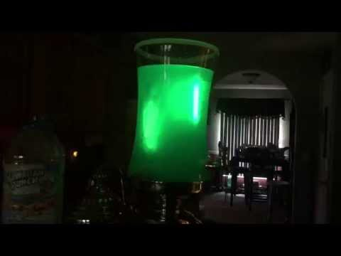 How to make Glow punch for Halloween