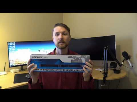 Neewer NW-81 Shotgun Condenser Microhpone - Unboxing and Review
