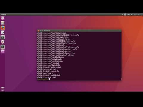 Install Vim 8.0 on Linux from Source