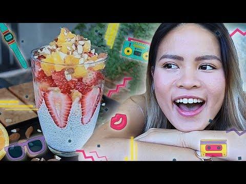How to make an Easy & Healthy Dessert Recipe (Chia Pudding w/Fruits) | De-stressing with Liz