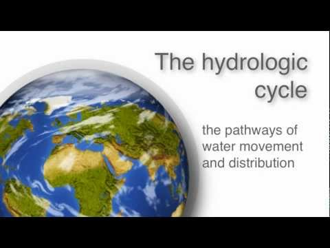 Water - video2 - The hydrologic cycle