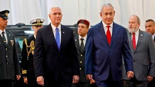 US vice president meets Netanyahu in Israel amid Jerusalem controversy