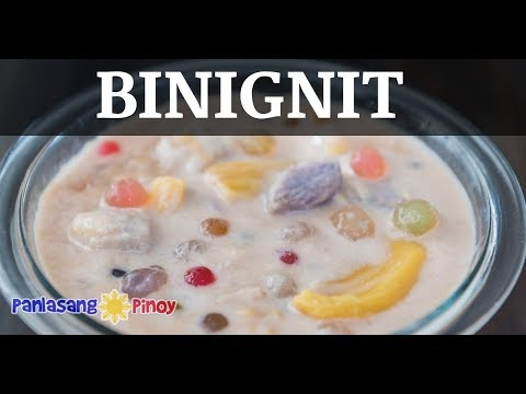 Binignit Recipe