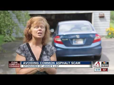 Angie's List: avoiding common asphalt scam