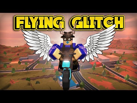 CRAZY NEW FLYING GLITCH! (ROBLOX Jailbreak)