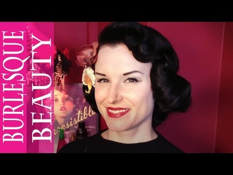 Vintage Hair How-To | Dita Von Teese '50s Waves