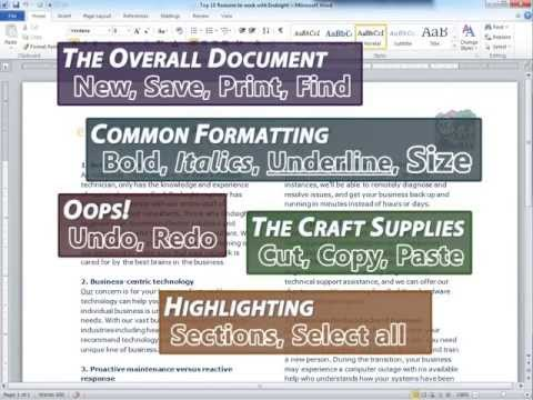 Keyboard Shortcuts for Microsoft Office (Word, Outlook, Excel, OneNote, PowerPoint, etc)
