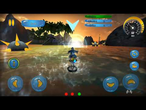 Water Surfer Bike Shark Attack - Android Gameplay FHD