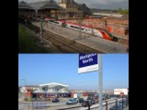 Catching the Pendolino (Class 390) to Blackpool 1P91