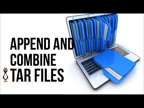 Appending and Combining Tar Archives