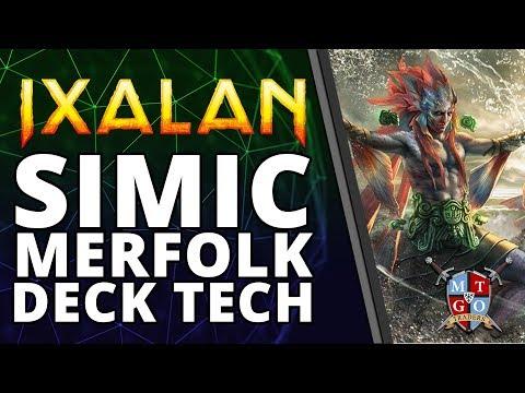 Simic Merfolk Ixalan Standard Deck Tech | MTG