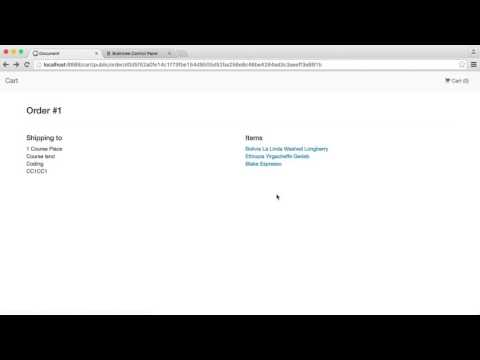 Build A Shopping Cart with PHP: Order summary (15/15)