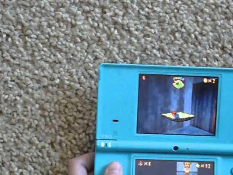 How to Unlock Luigi- Mario 64 Ds