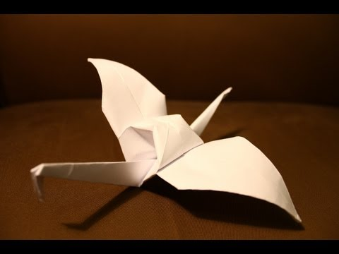 How to make an Origami paper bird - Clear Easy Steps