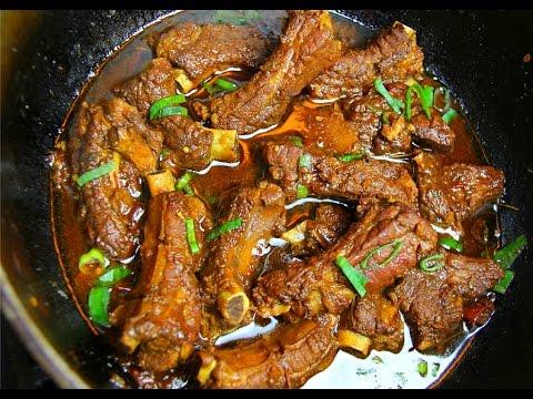 Stewed Pork Ribs #TastyTuesdays | CaribbeanPot.com