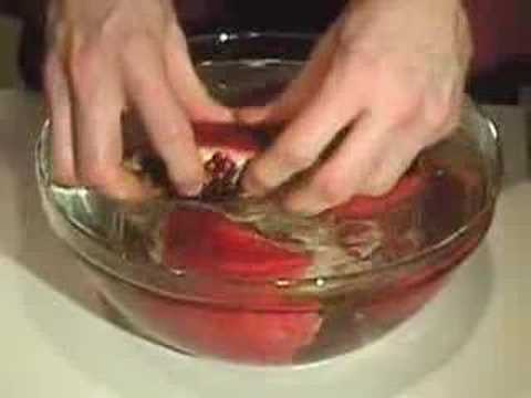 How To Cut Open a Pomegranate - Episode 7