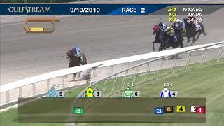 Gulfstream Park September 19, 2019 Race 2