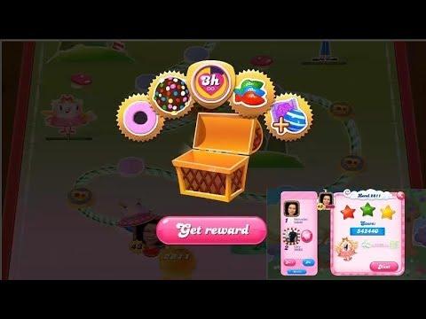 Candy Crush Saga 2811   |   3-Star ⭐⭐⭐   |   ONE TRY