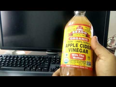 Bragg Organic Raw Apple Cider Vinegar [Unboxing Experience]