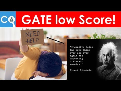 What if You are Not Qualified in GATE   Low Score ? GATE 2019 Mistakes Rectify