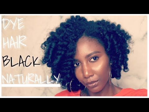 Dying Natural Hair with Black Henna   Simply Subrena