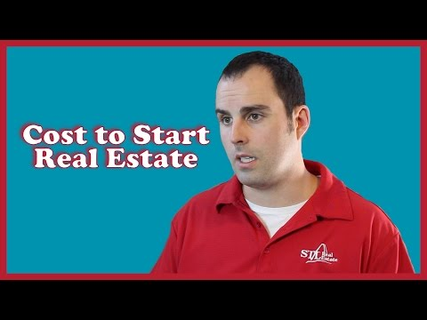 How Much Does It Cost To Get Started In Real Estate?