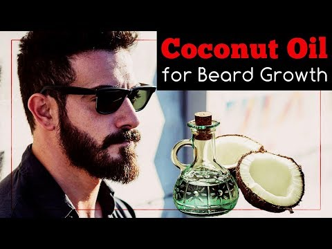 Coconut Oil for Beard Growth: Does It Work And How To Use It?