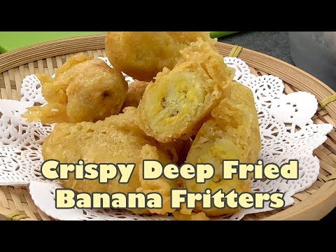 Banana Fritters with Crisp Coating (Pisang Goreng) | MyKitchen101en