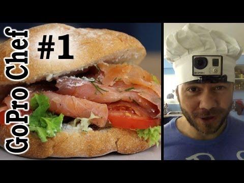 GoPro Chef #1 Salmon Sandwich