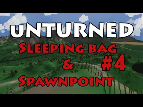 Unturned - Survival Guide #4 Sleeping Bag and Spawnpoint (2 Amigos Series)
