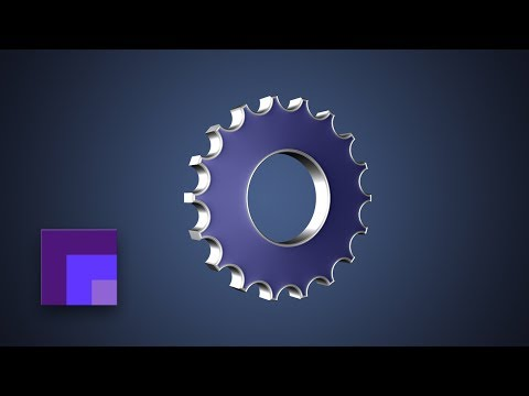 Photoshop CS6 - 3D Gear Icon & Custom Gear Vector Shape