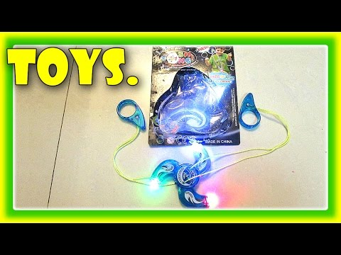 Pull Along TOYS FOR KIDS, Glow In The Dark Toys. Pull-Along YoYo by JeannetChannel