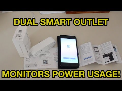 Dual Smart Outlet With Energy Monitoring Review