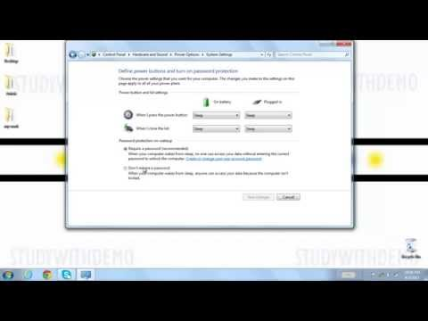 How to Turn OFF/ON Auto Lock in Windows 7