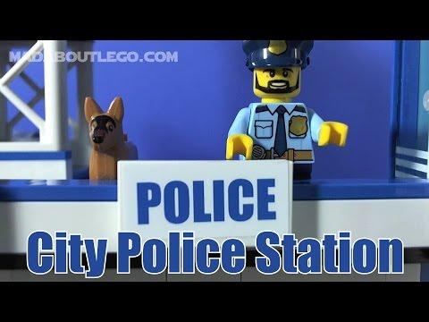 LEGO City Police Station 60141 Stop Motion Build