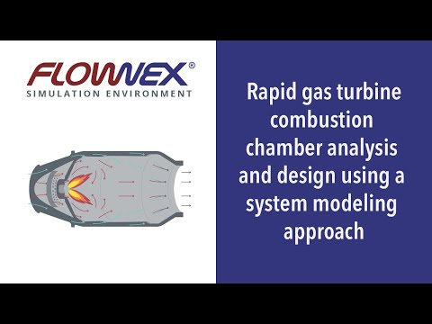 Webinar | Rapid gas turbine combustion chamber analysis and design using a system modeling approach