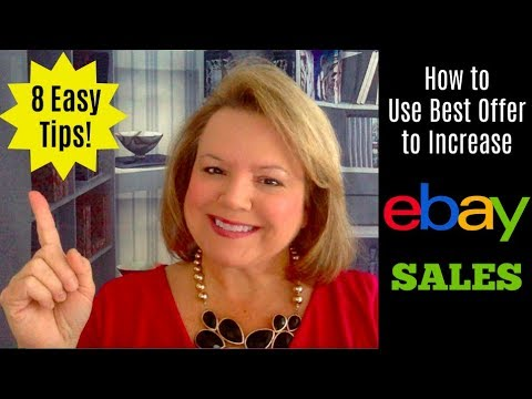 8 Tips for Using Best Offer to Increase eBay Sales