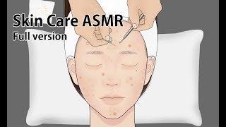 Skin Care ASMR Animation versi lengkap / Jerawat bermunculan / Perawatan Laser Jerawat / LULUPANG