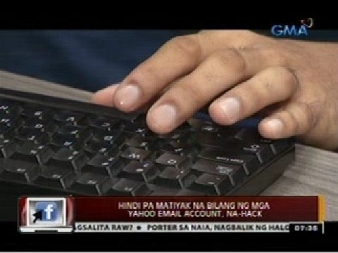 24 Oras: Hindi pa matiyak na bilang ng mga Yahoo email account, na-hack