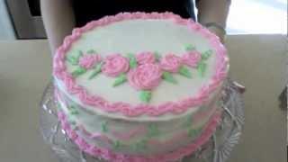 طرز درست ماکت کیک تولد فراستینگ کره ای Butter Frosting Mp3 Download - Noxila