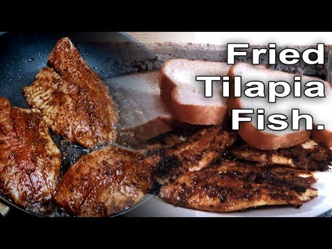 Fried Tilapia Fish - How to Prepared at Home.
