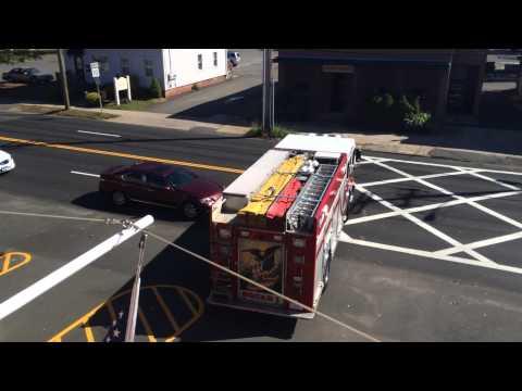 Hamden Ct fire department responding