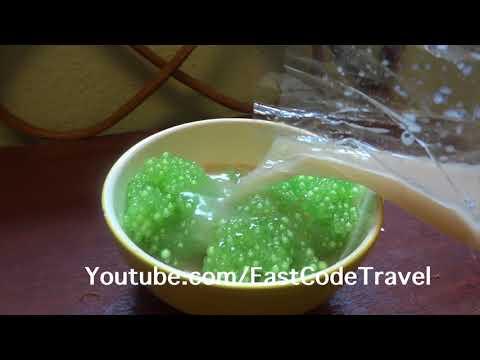 Thai Sako balls dessert