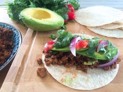 How to make Healthy Turkey Tacos
