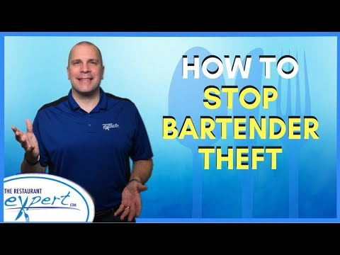 Restaurant Management Tip - How to Prevent Bartenders from Stealing #restaurantsystems
